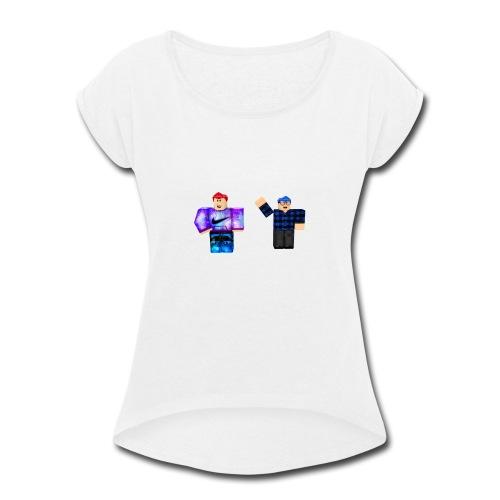 star squad - Women's Roll Cuff T-Shirt