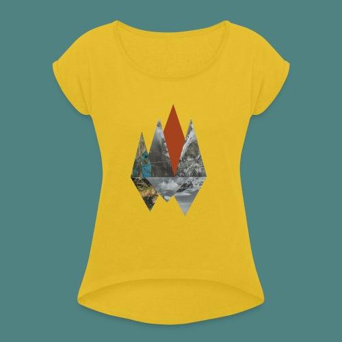 Peaks - Women's Roll Cuff T-Shirt