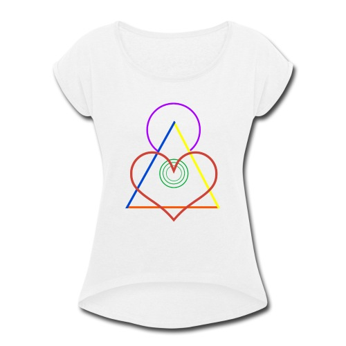 Angel - Women's Roll Cuff T-Shirt