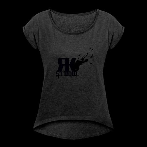 RKStudio Black Version - Women's Roll Cuff T-Shirt