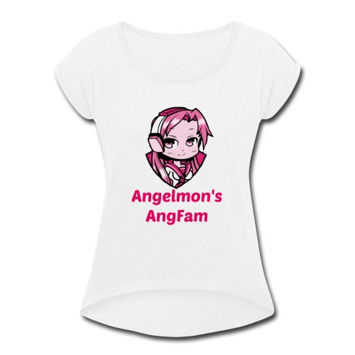 AngFam - Women's Roll Cuff T-Shirt
