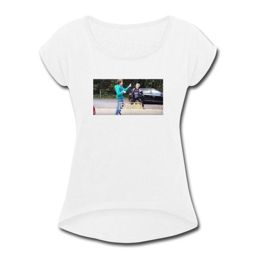 DTB Highfive - Women's Roll Cuff T-Shirt