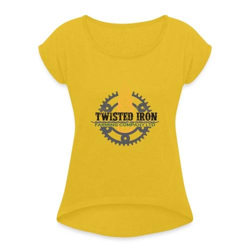 Twisted Iron Farming Co - Women's Roll Cuff T-Shirt