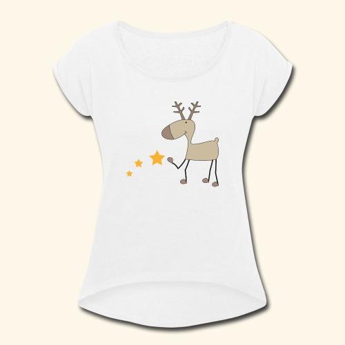 Christmas - Women's Roll Cuff T-Shirt