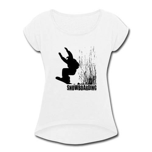 Snowboarding - Women's Roll Cuff T-Shirt