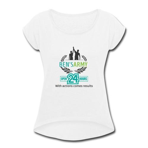 Brand designs - Women's Roll Cuff T-Shirt