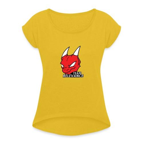 TeamRelevance - Women's Roll Cuff T-Shirt