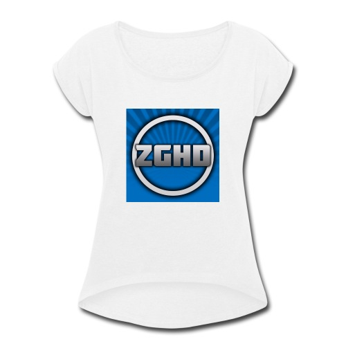 ZedGamesHD - Women's Roll Cuff T-Shirt