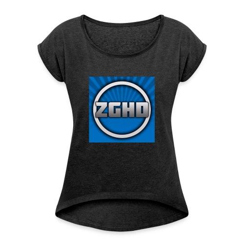 ZedGamesHD - Women's Roll Cuff T-Shirt