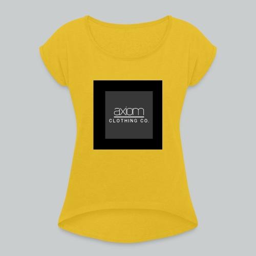 axiom - Women's Roll Cuff T-Shirt