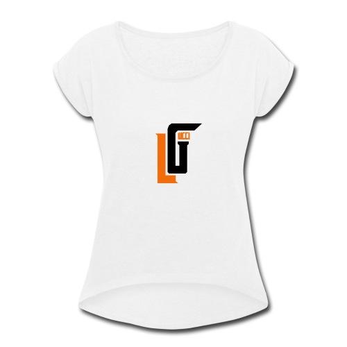 Lil Gucci Logo Hoodie - Mens - Women's Roll Cuff T-Shirt