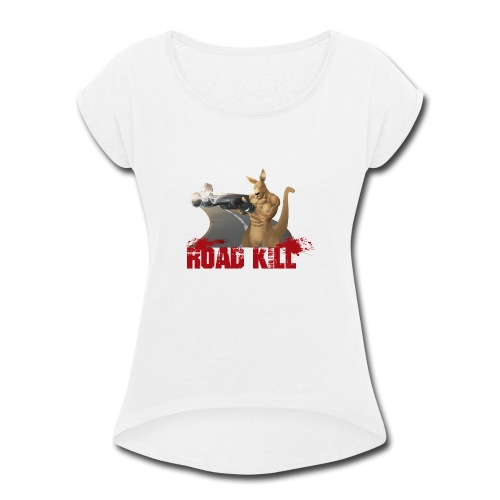 4000x4000 - Women's Roll Cuff T-Shirt