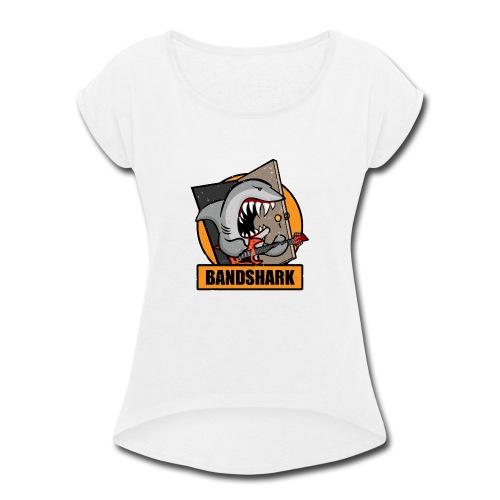 Bandshark - Women's Roll Cuff T-Shirt