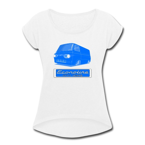Long Sleeve Econoline Cotton Shirt - Women's Roll Cuff T-Shirt