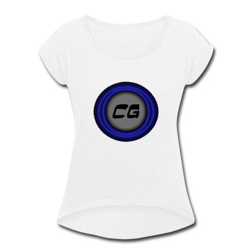 Clostyu Gaming Merch - Women's Roll Cuff T-Shirt