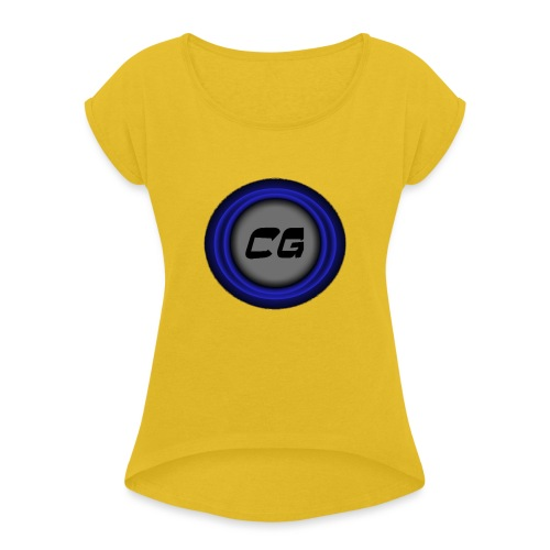 Clostyu Gaming Merch - Women's Roll Cuff T-Shirt