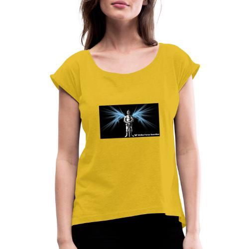 StrikeforceImage - Women's Roll Cuff T-Shirt