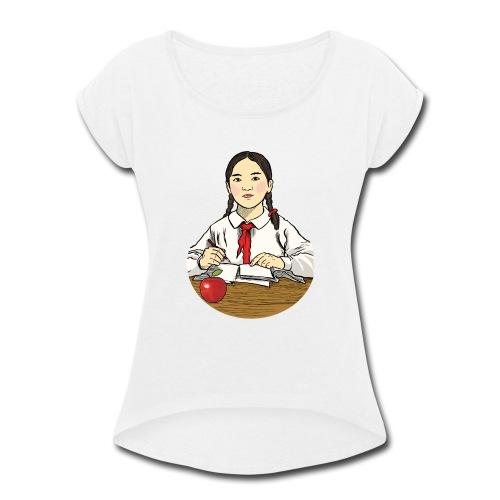 Early Learning - Women's Roll Cuff T-Shirt