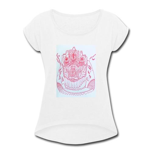 Stranger - Women's Roll Cuff T-Shirt