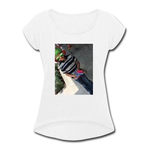 fernando m - Women's Roll Cuff T-Shirt