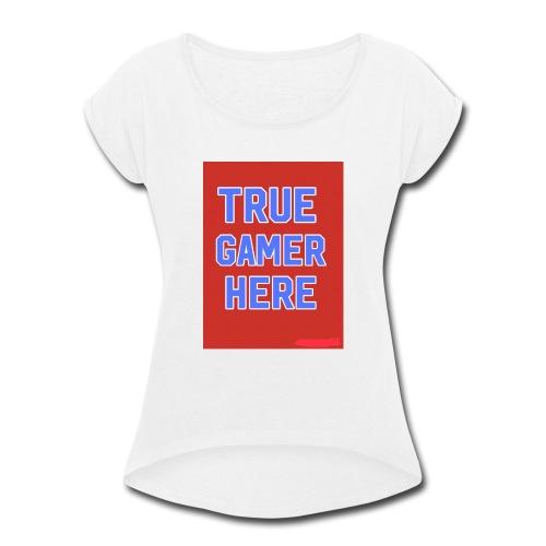 58722AF6 0345 4B70 A70B FBF270884866 - Women's Roll Cuff T-Shirt