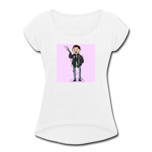 Lil Aver Art - Women's Roll Cuff T-Shirt