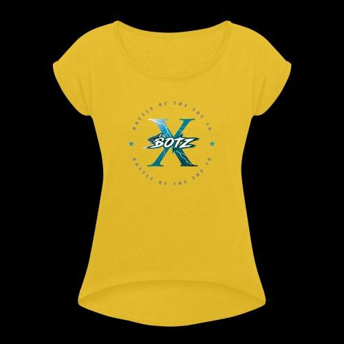 BOTZ X Circle Logo - Women's Roll Cuff T-Shirt