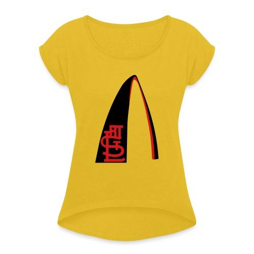 RTSTL_t-shirt (1) - Women's Roll Cuff T-Shirt