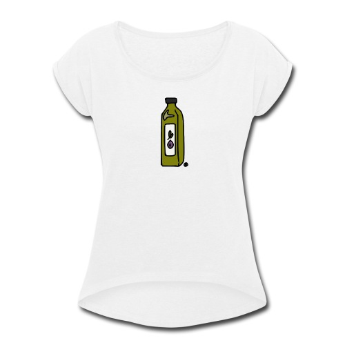 Olive Oil - Women's Roll Cuff T-Shirt
