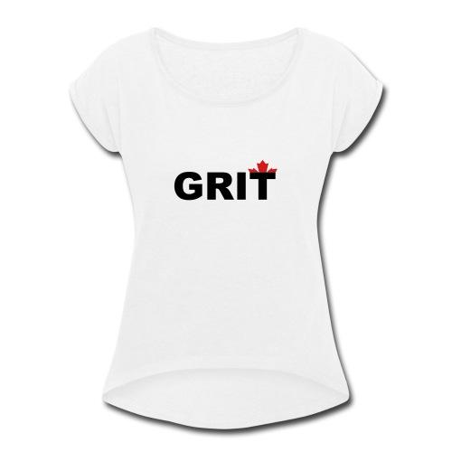 Grit - Women's Roll Cuff T-Shirt