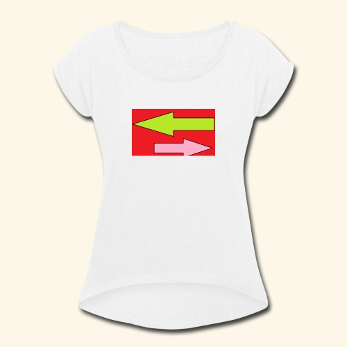 Untitled - Women's Roll Cuff T-Shirt