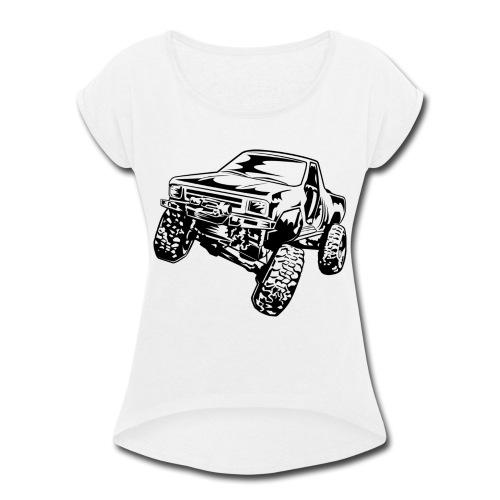 Truck Crawler - Women's Roll Cuff T-Shirt