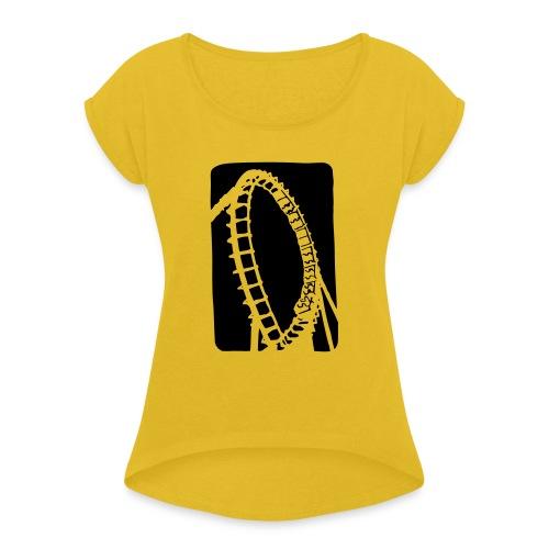 Roller Coaster - Women's Roll Cuff T-Shirt