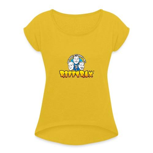 RiffTrax Made Funny By Shirt - Women's Roll Cuff T-Shirt