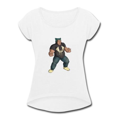 snordatdude - Women's Roll Cuff T-Shirt