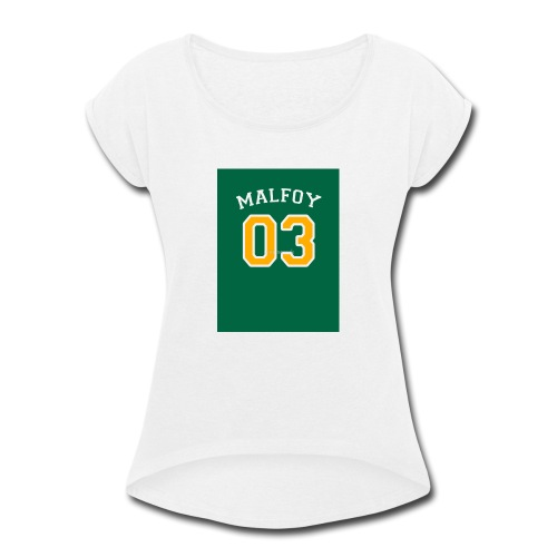 Malfoy 03 - Women's Roll Cuff T-Shirt