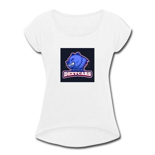 3DD45A12 DDE1 41CB 9426 4E0917819CFE - Women's Roll Cuff T-Shirt