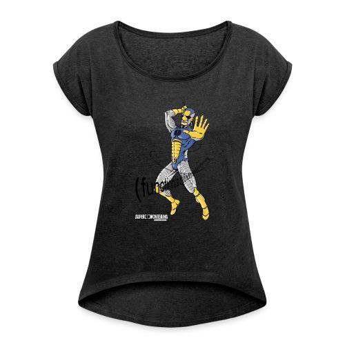 Super Developer - Women's Roll Cuff T-Shirt