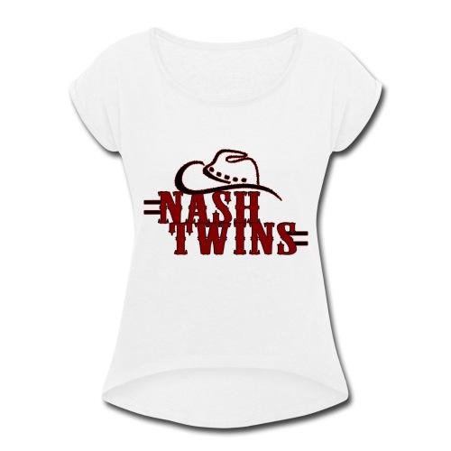 Nash Twins - Long Sleeve - Women's Roll Cuff T-Shirt