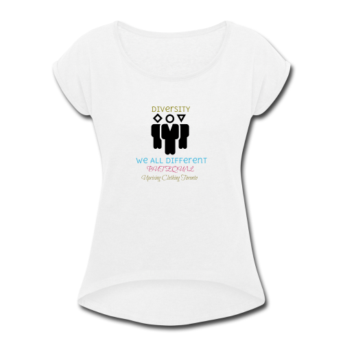 Equality - Women's Roll Cuff T-Shirt