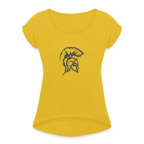 the knight - Women's Roll Cuff T-Shirt