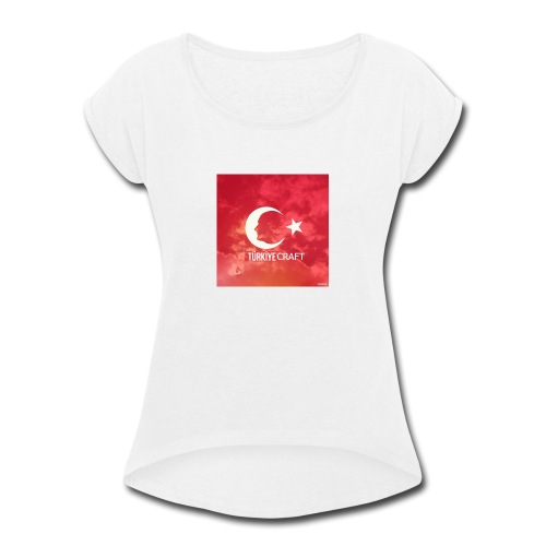 TurkiyeCraft - Women's Roll Cuff T-Shirt