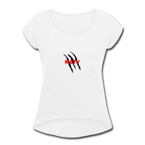 MGTV merch - Women's Roll Cuff T-Shirt