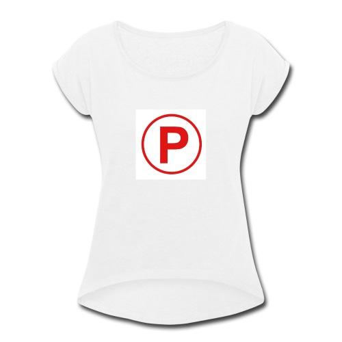 Presto569 Gaming Logo - Women's Roll Cuff T-Shirt