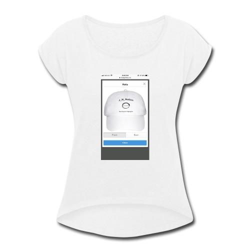 EDA4BA7C 6C7F 4E9D 8C41 12B04D13CE6B - Women's Roll Cuff T-Shirt