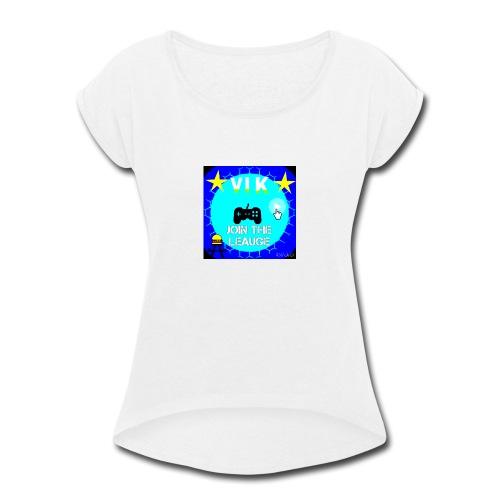 MInerVik Merch - Women's Roll Cuff T-Shirt