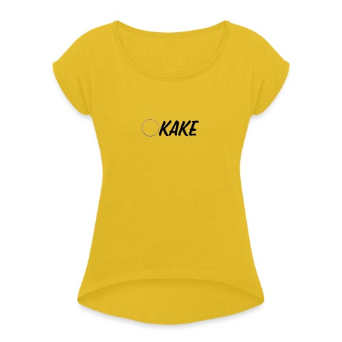 KaKe - Women's Roll Cuff T-Shirt