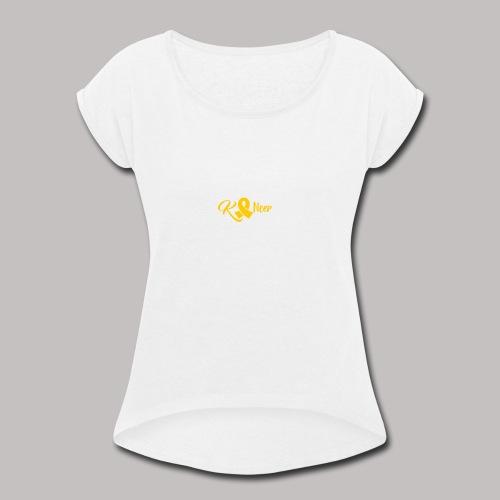 Kancer - Women's Roll Cuff T-Shirt