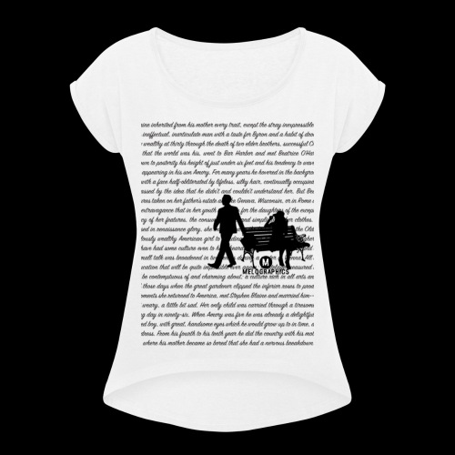 That Side of Paradise - Women's Roll Cuff T-Shirt