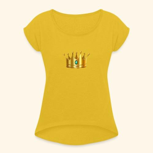 Royal Crown - Women's Roll Cuff T-Shirt